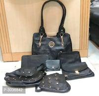 Trendy pu bags for women (set of 7)*
