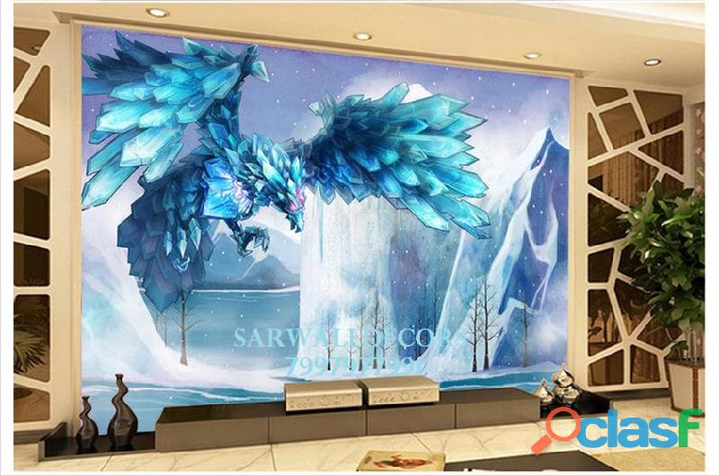 Best 3d wall papers in house in hyderabad