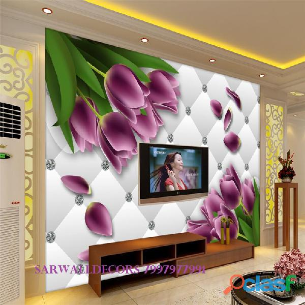 Best 3D wall papers in House in Hyderabad 1