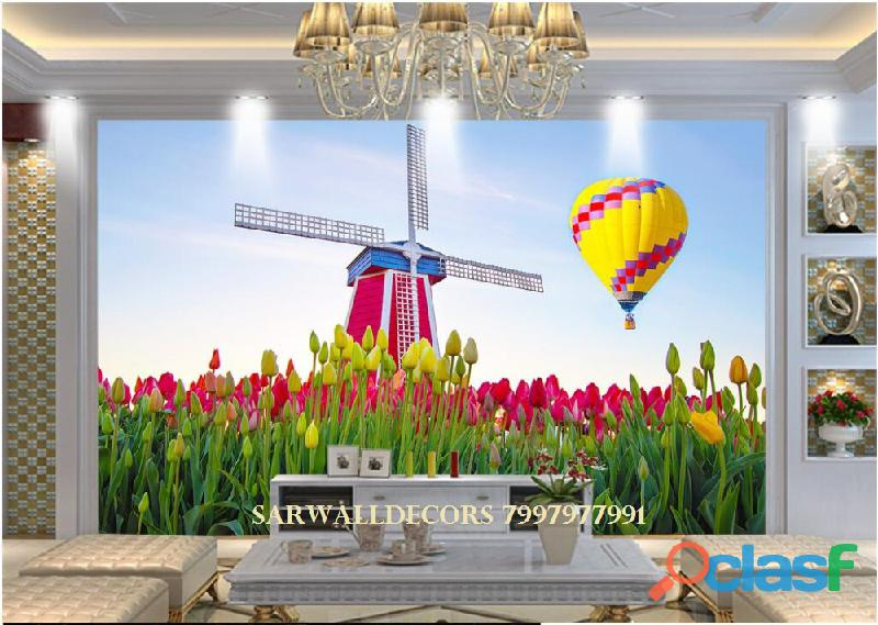 Best 3D wall papers in House in Hyderabad 2