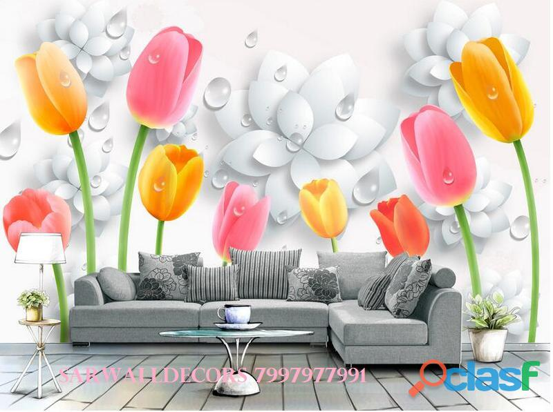 Best 3D wall papers in House in Hyderabad 3