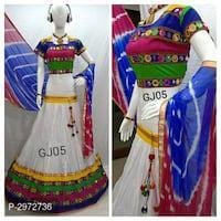 Cotton embroidered lehenga choli# #navarti specia