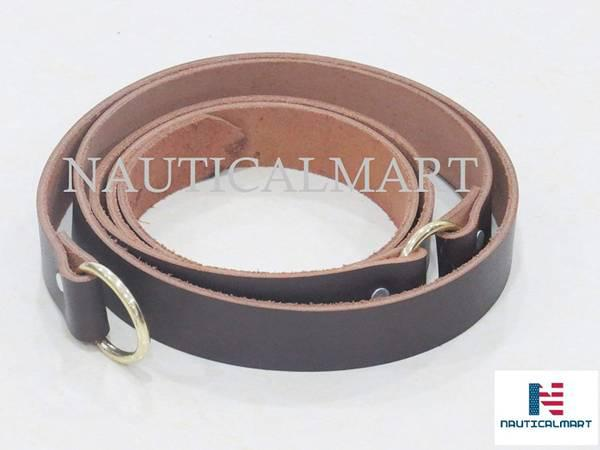 Nauticalmart medieval ring belt from quality leather with