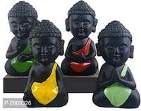 Child monk showpieces ( set of 4 )