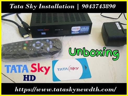 Tata sky installation | new connection - business/commercial