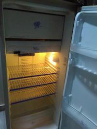 One refrigerator and lg tv