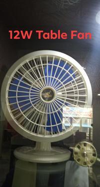 Dc 12v 12inch shreya solar ecoxxx table fan