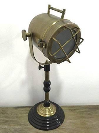 Decorative marine table lamp nautical royal wooden tripod