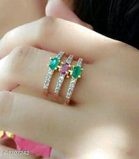 Fashion jew stylish alloy women's ring
