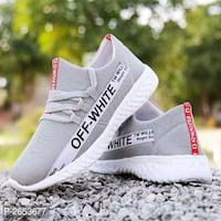 Men's Grey Mesh Sport Shoe*