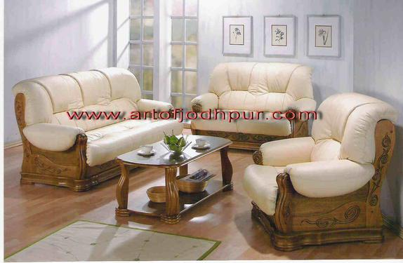 Online furniture teak wood sofa set