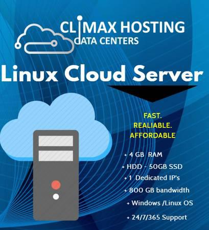 Cloud Server Hosting | Climax Hosting - computers - by owner