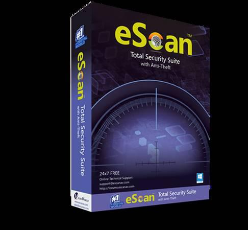 eScan Total Security Suite 1 year - electronics - by dealer