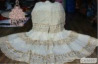 Product Name: Women's Cotton Block Printed And Self Zari