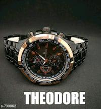 Theodore Metal Wrist Watches (#Re1shipping)