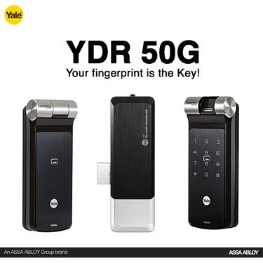 Ydme50 rf card and pin code lock yale