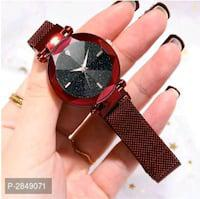 Shop for new dial design magnetic strap watches for women!!