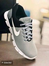 Elegant Black Mesh Men's Sports Shoes Size: UK6 UK7 UK8 UK9