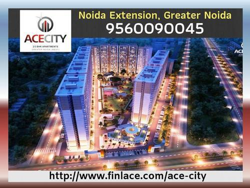 Ready to move 2 bhk apartments ace city noida extension