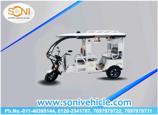 Soni e vehicle we are manufacturer of e rickshaw