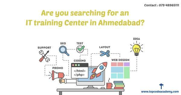 Are you searching for an it training center in ahmedabad? -