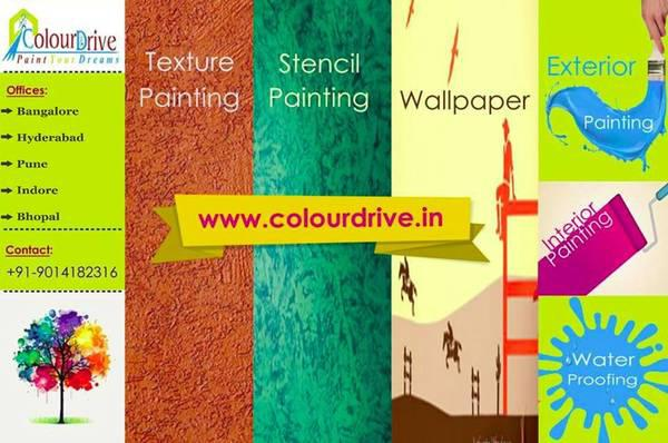 Book waterproofing services online in pune with colourdrive