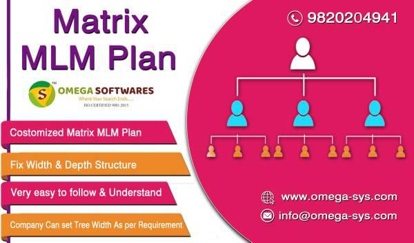 Matrix multi level marketing plan software in india at