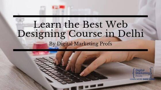 Web designing course in delhi by digital marketing profs -