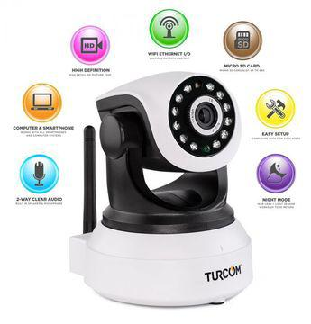 360 autorotating wireless cctv camera