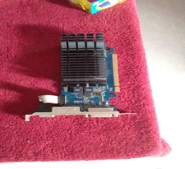 Graphics card asus gt 210 and 2 2gb ddr2 ram
