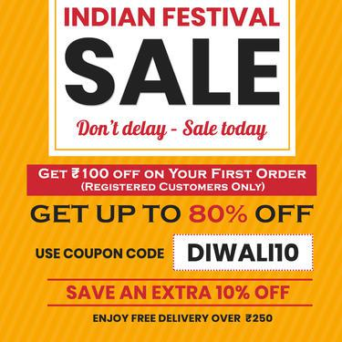 Indian festival sale 2019 diwali deals offer up to 80 off