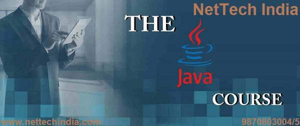 Learn complete java course from nettech india - computer