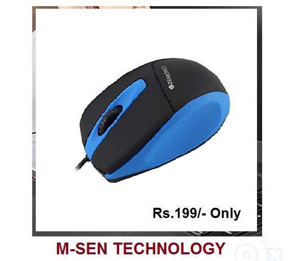 Zebronics new usb mouse