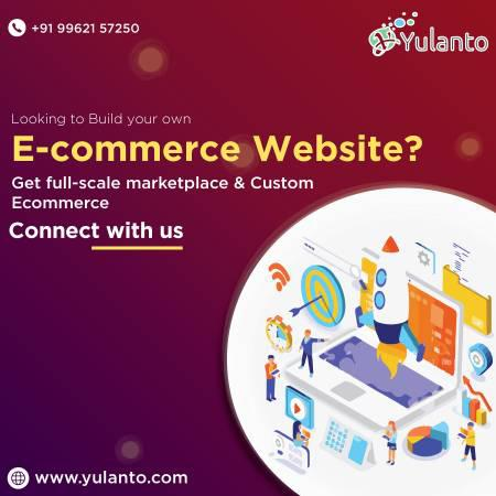 Custom ecommerce website development services