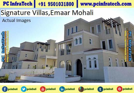 Emaar villas for sale at mohali sector 106 chandigarh 95o1o3