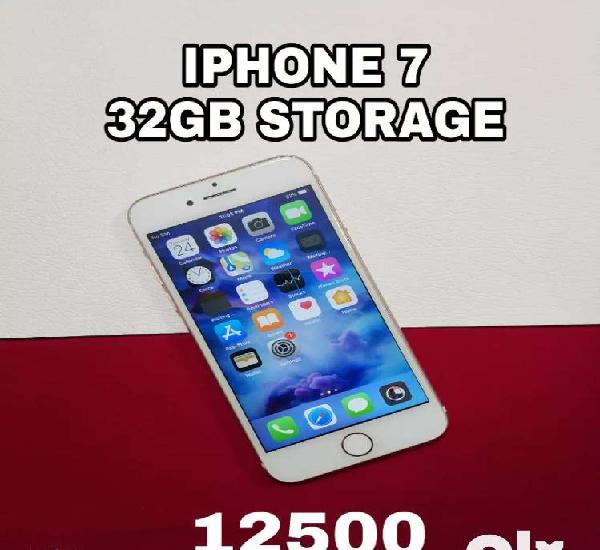 Apple iphone 7, 32gb storage, good condition...