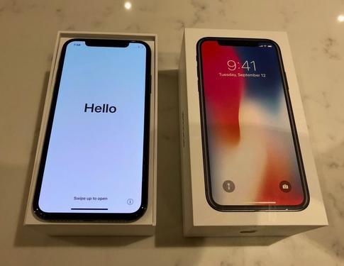 Apple iphone x 64gb whiteunlocked brand new sealed