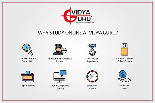 Benefits of studying online at onlinevidyaguru - lessons &