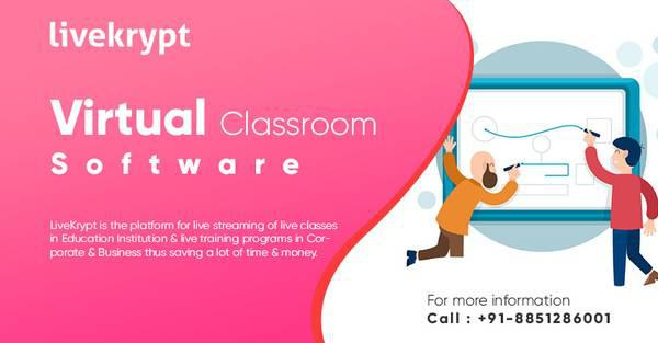 Livekrypt: virtual classroom software for live online