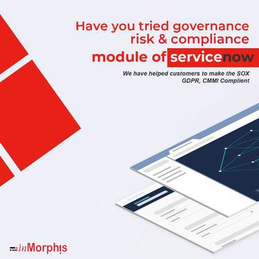 Servicenow india inmorphis