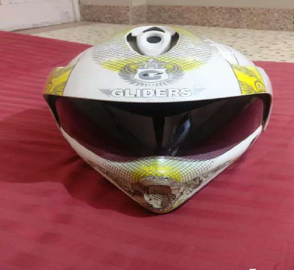 White colour helmet
