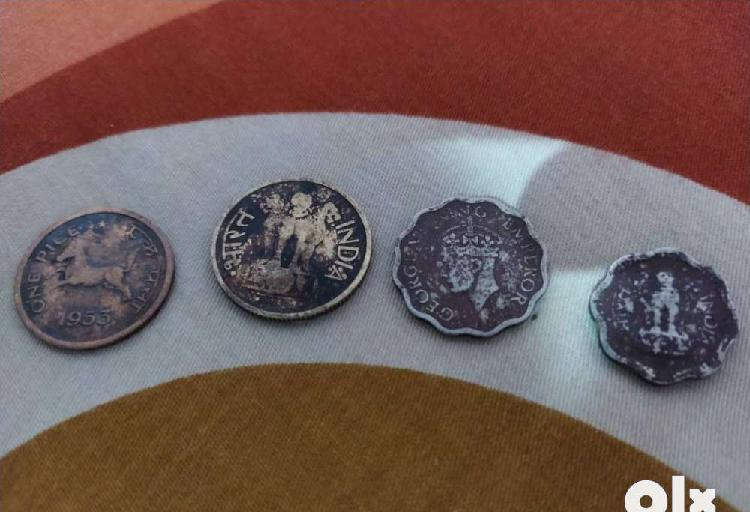 Old coins of india