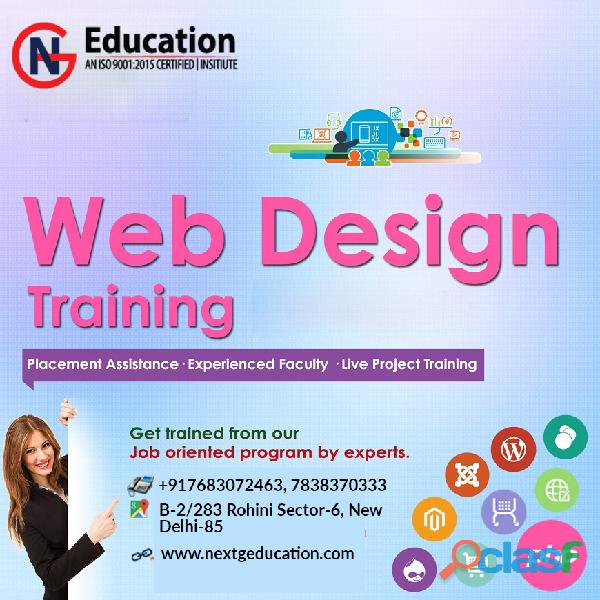 Website Design Institute North Delhi | Best Web Design Courses Delhi