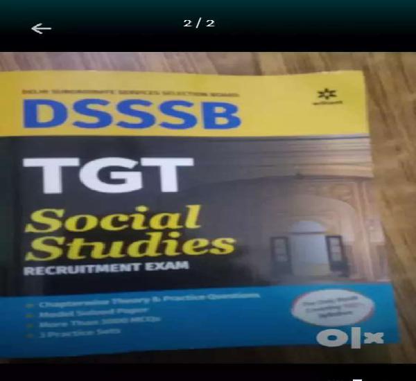 Dsssb tgt social science book