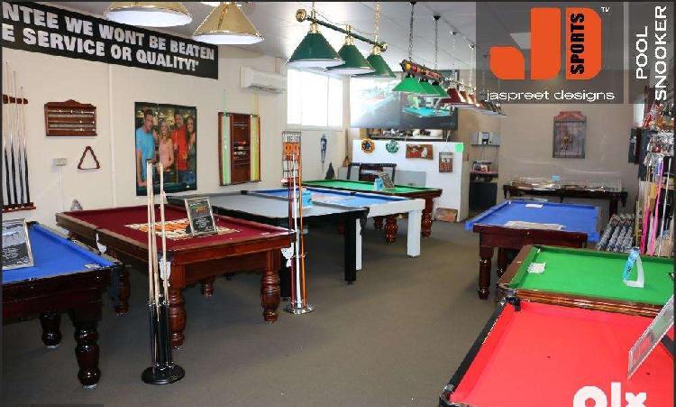 Brand new pool , snooker, soccer ,tt table, air hockey