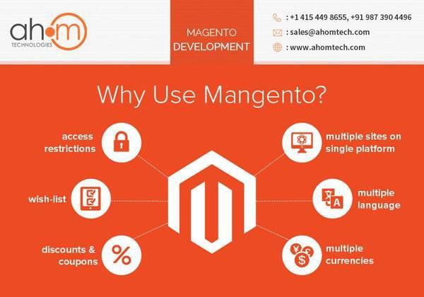 Magento website development, magento ecommerce development -