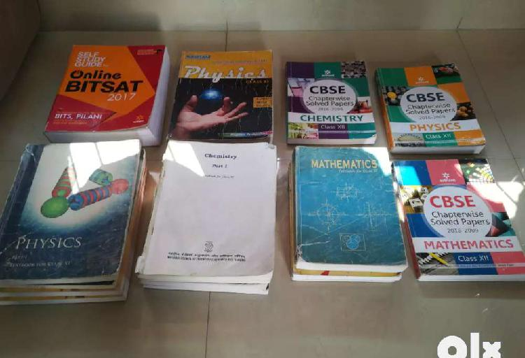 11th & 12th ncert (pcm) and some reference books
