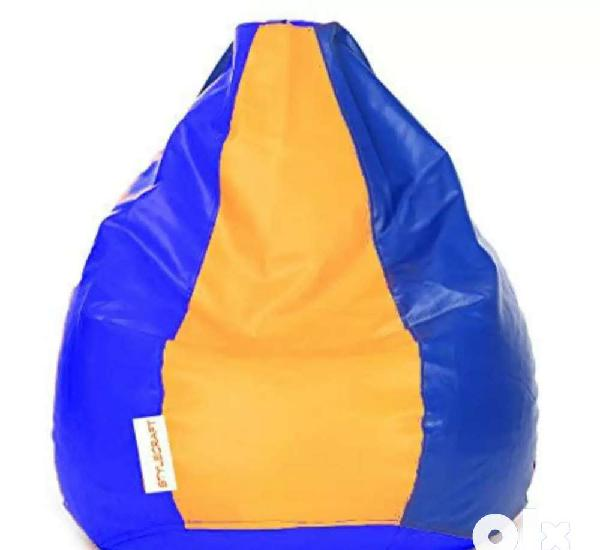 Beanbag for sale with beans rs 1250