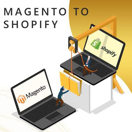 Migration sevices: magento to shopify in affordable price -