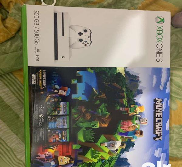 Xbox one s 500gb - minecraft bundle